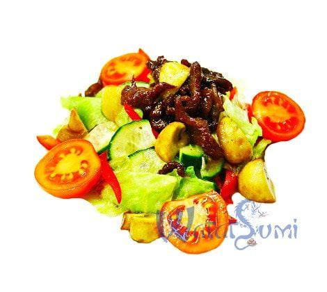 teplyj salat z teliatynoju