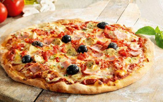 нетрадиционная пицца