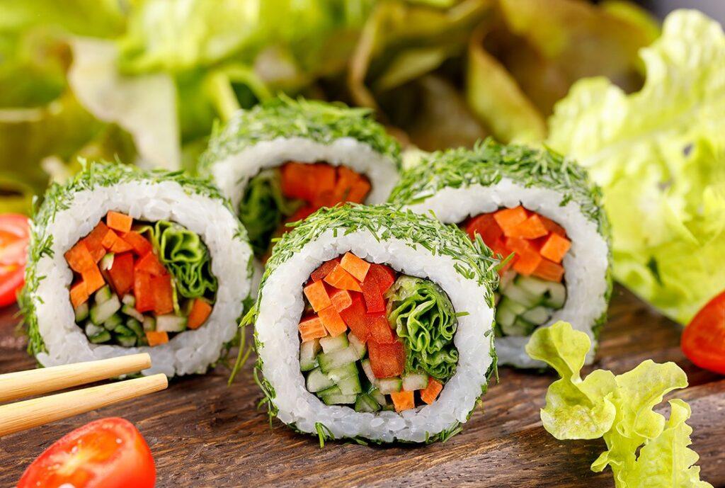 Вегетарианские роллы